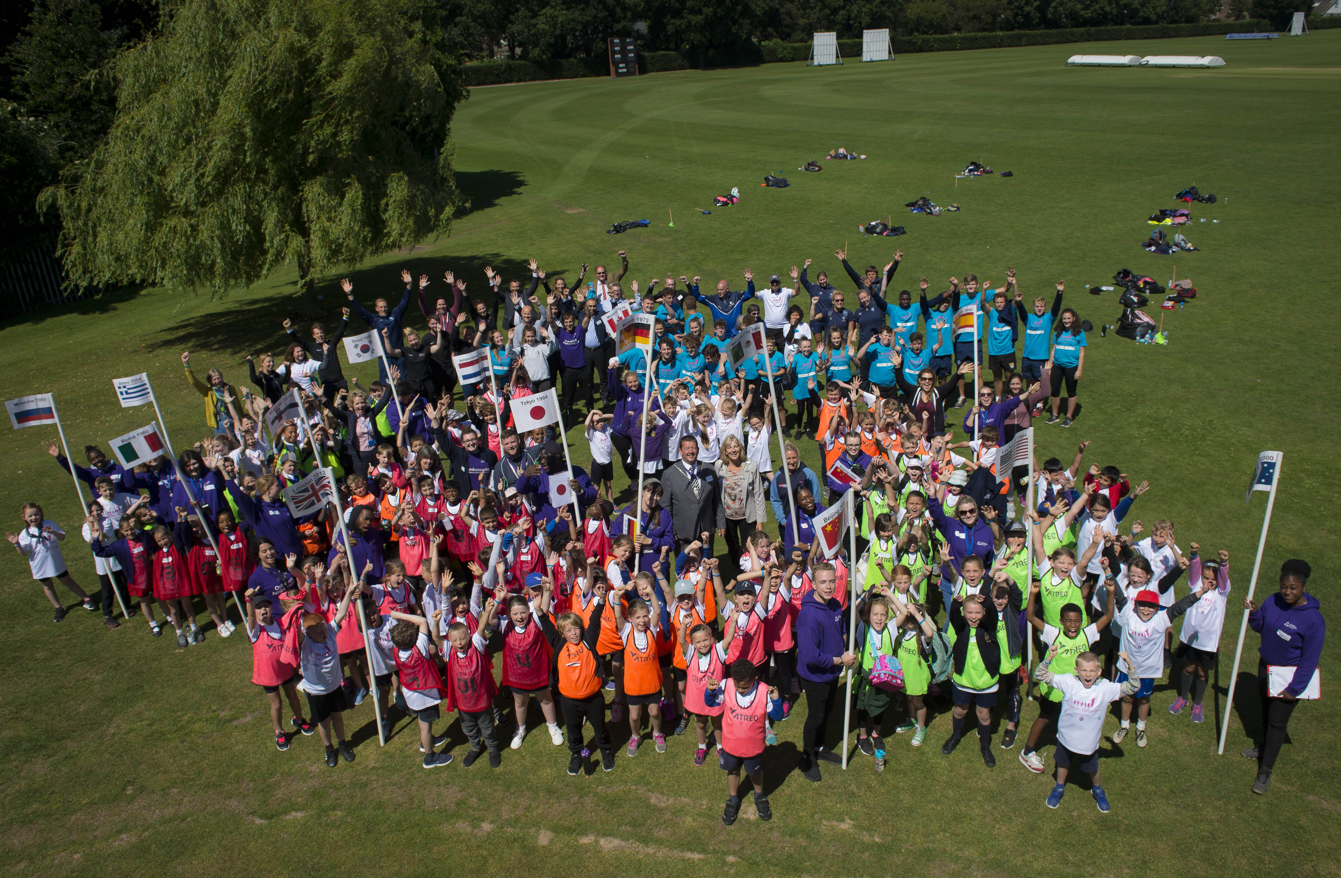 Local pupils take part in Minliympics sports day | Coombs